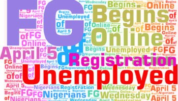Online registration of unemployed Nigerians begins April 5th
