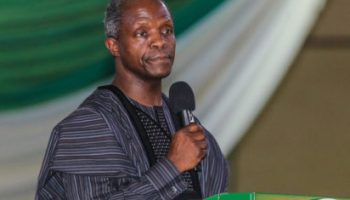 Image result for Osinbajo urges Christians to expose and ostracize corrupt church members