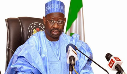 Dankwambo - Fresh!!! Gombe state governor's convoy attacked by thugs