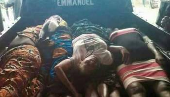 Image result for Police arrest three suspects in connection with Anambra Church killings