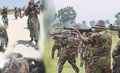 Boko Haram: Nigerian Army Kill 8 Terrorists, Rescue 14