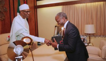 updated buhari resumes work today vanguard news