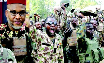 Nnamdi Kanu's lawyer drags Army Chief to court