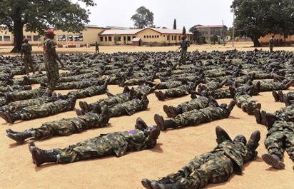 Nigeria army recruitment training date