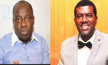 Pastor Reno Omokri and Bolaji Abdullahi