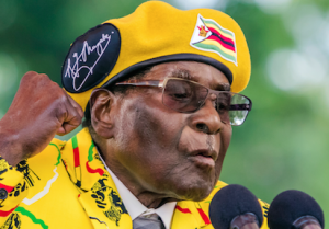 Body of former leader, Mugabe, arrives in Zimbabwe for burial
