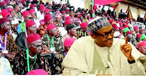Igbo elders & Buhari