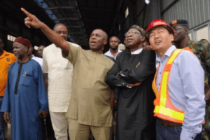 Projects, rail, airport, Buhari