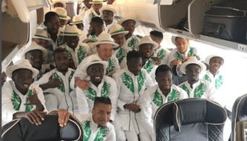 da38edbeb9e Super Eagles  unique World Cup travel outfit causes stir on social media