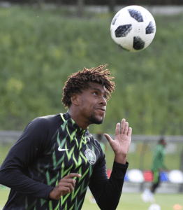 BREAKING: CAF clears Alex Iwobi for Lesotho after testing negative for COVID-19