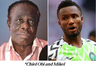 Mikel's dad's kidnap shocks Rohr 1