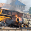 Commercial bus rams into roadside shop in Delta, kills two persons
