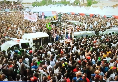 Oshiomhole thrills Akpabio rally in Ikot Ekpene
