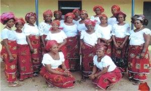 *Women of Amatta-Amaka in Ikeduru LGA during August Meeting.