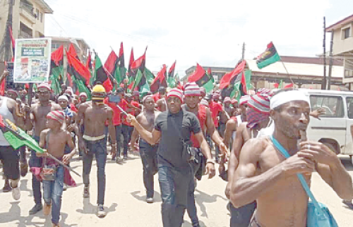 Police arrest seven suspected IPOB members in Aba
