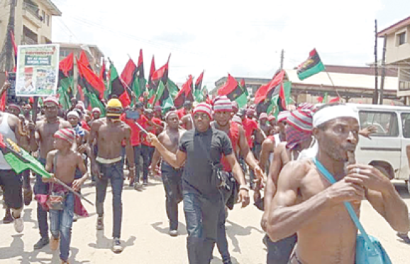 Police seize 10 IPOB members, recover 13 AK-47 rifles