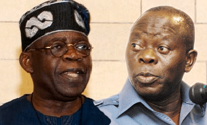 Tinubu, Oshiomhole ask Kwarans to collapse Saraki's empire, enslavement -  Vanguard News