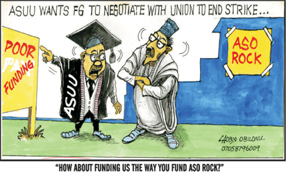 Image result for asuu strike  ASUU STRIKE TO END FOREVER!! NIGERIAN STUDENTS REJOICE AS FINAL END OF ASUU STRIKE IS NEAR – SEE DETAILS FG ASUU