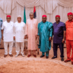 Photos: South-East traders visit Buhari