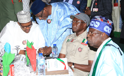 APC govs absent as Buhari, Tinubu attend inaugural campaign council meeting  - Vanguard News