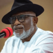 I stayed back in Abuja to recuperate, am back stronger, refreshed, ready to serve ― Akeredolu