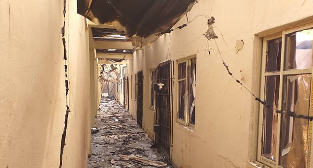 Confusion as fire guts Imo varsity - Vanguard News
