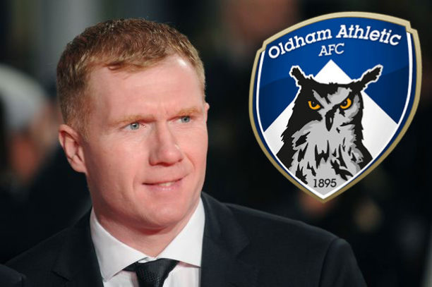 Paul Scholes appointed manager of Oldham