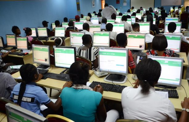 UTME Candidates. Photo: Vanguard News