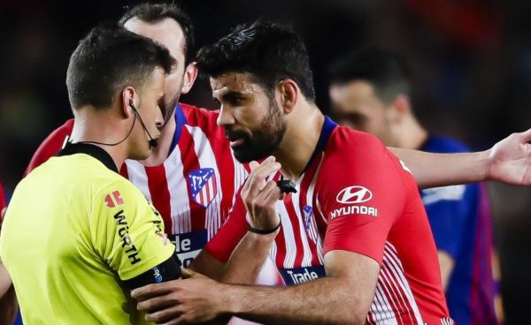 Image result for Diego Costa suspended for eight matches for insulting referee