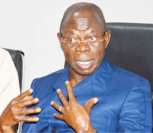 Adams Oshiomhole speaks about his experience in Benin