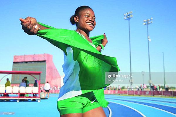 Rosemary Chukwuma  Chukwuma: 3 days of travel stressful for athletes #Nigeria Rosemary Chukwuma e1555794227816
