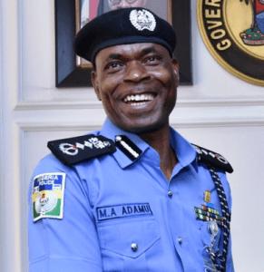 Mohammed Adamu,Police
