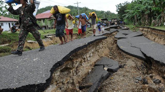 Philippine, earthquake
