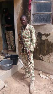 Soldier, internet