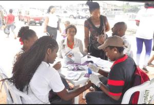 National HIV Testing Day in Uselu Market, Egor LGA, Edo State.