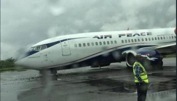 Image result for Air Peace records engine failure, AIB begins investigation
