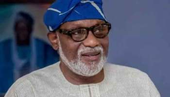 Akeredolu bans viewing centres in Ondo over COVID-19