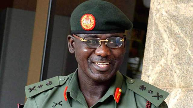 Terrorism: Learn from Buratai, security expert urges Burkina Faso Army chief