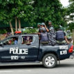 Police arrested 19 year old boy, 3 others with 42 bags of Indian hemp