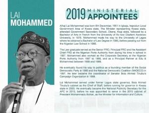 Lai Mohammed, minister, information
