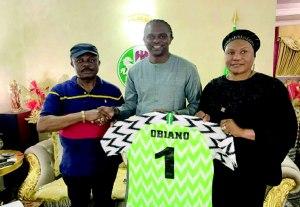 Governor Obiano and Kanu Nwankwo