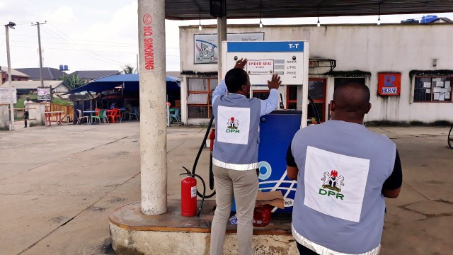 DPR seals 4 petrol stations in Katsina for selling above approved price