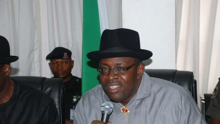 There was no election in Bayelsa on November 16 ? Dickson