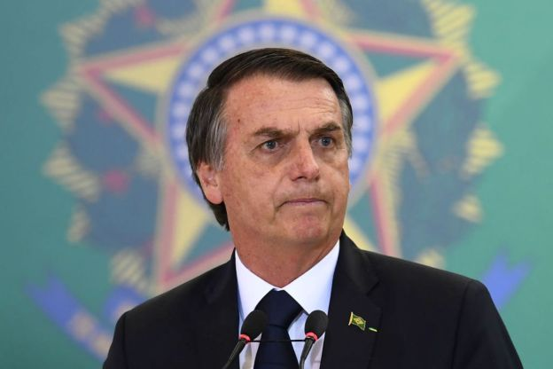 Brazil's president, Bolsonaro, tests positive for coronavirus