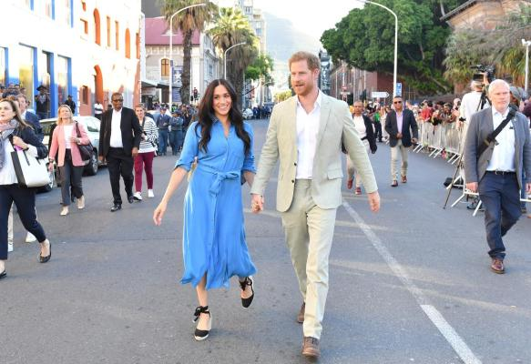 Prince Harry and Meghan move to new California family home