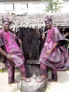 Taiwo and Kehinde Oguntoye, organisers of World Twins Festival