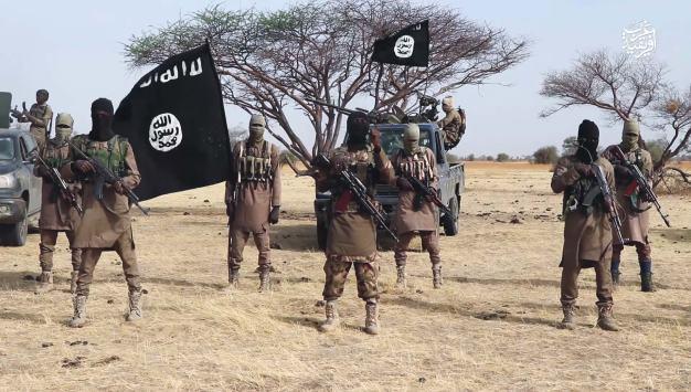 Chibok: ISWAP fighters