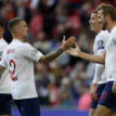 Seventh heaven for England against Montenegro, as host cruise to Euro '20
