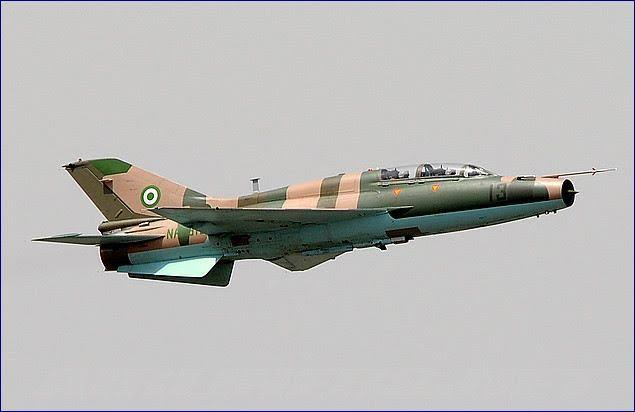 Military airstrike destroys terrorists' logistics, eliminates scores in Borno