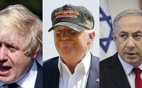 Johnson, Trump and Netanyahu